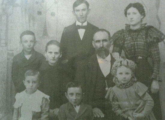 Robert Thomas Compton family